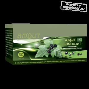 Чай «Алфит-3 Композит» Активные фитовитамины Алтая